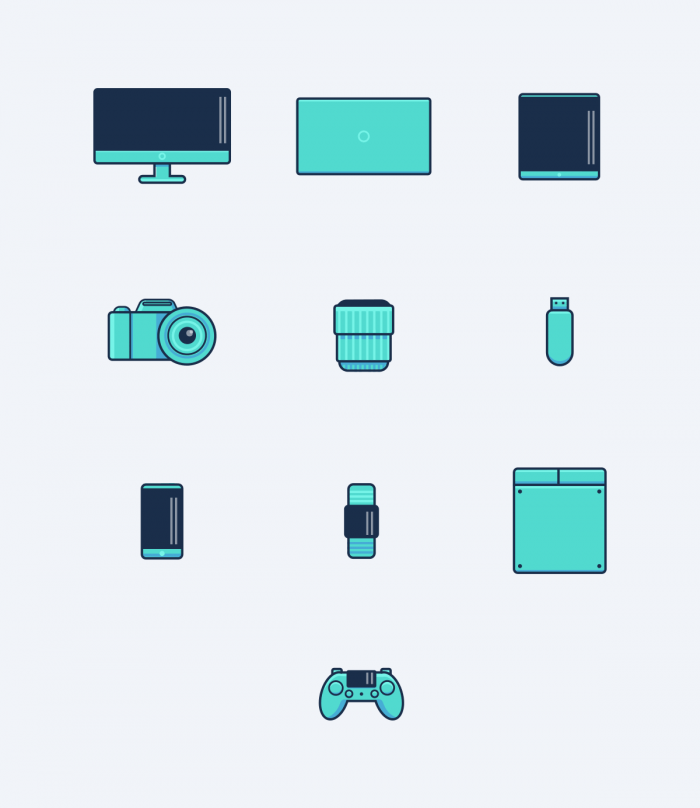 Vector Devices #2 | IconStore