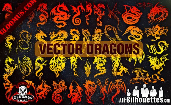 Vector Dragons
