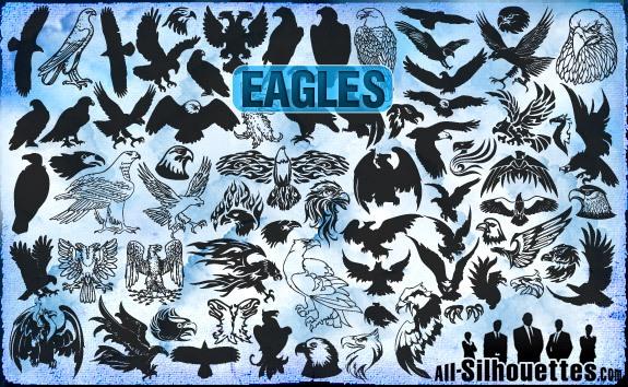 Vector Eagles Clipart