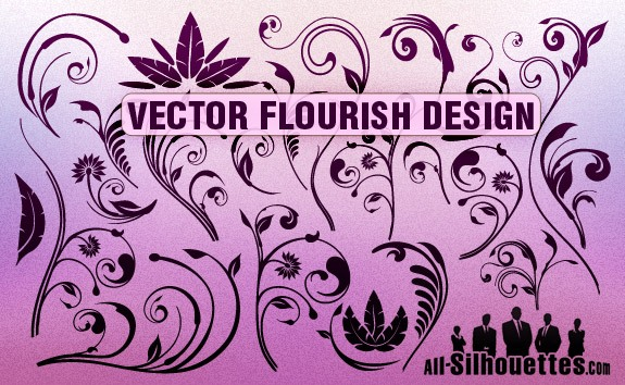 Vector Flourish Designs – All-Silhouettes