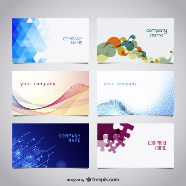 Vector free business cards kit   Vector | Free Download