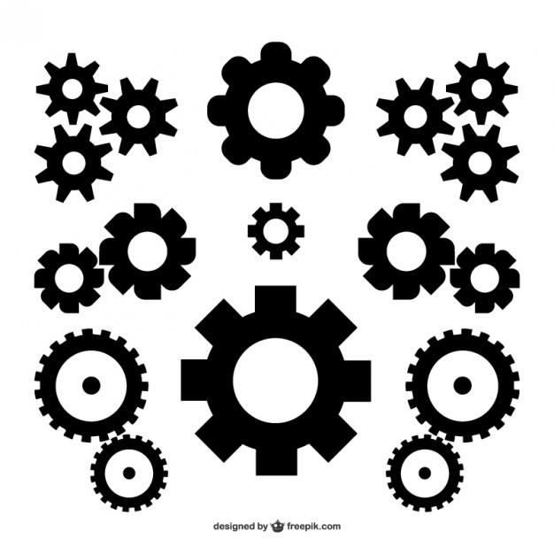 Vector gears free download  Vector | Free Download