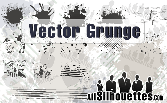 Vector Grunge – All-Silhouettes