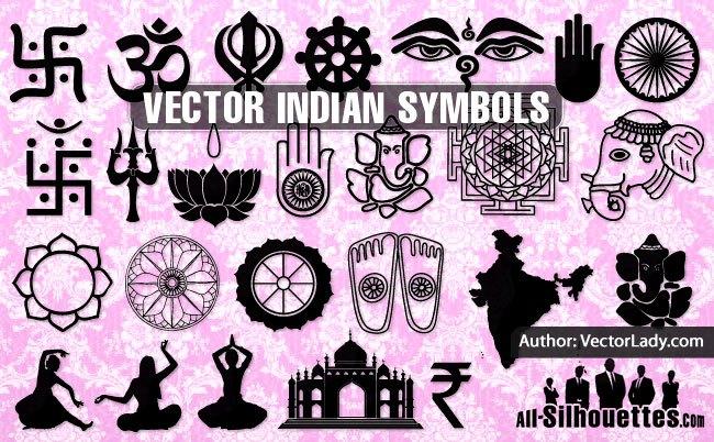 Vector Indian Symbols