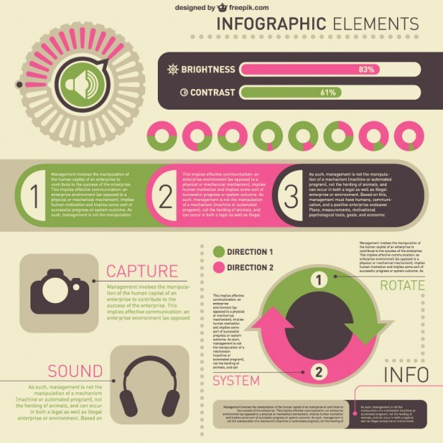 Vector infographic kit  Vector   Free Download