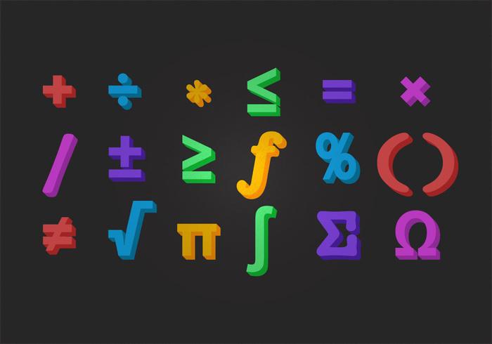 Vector Math Symbol