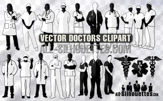 Vector medic doctor nurse