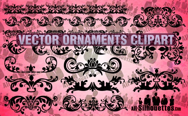 Vector Ornaments Clipart