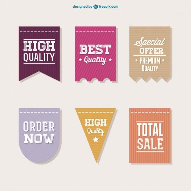 Vector sale labels collection   Vector | Free Download