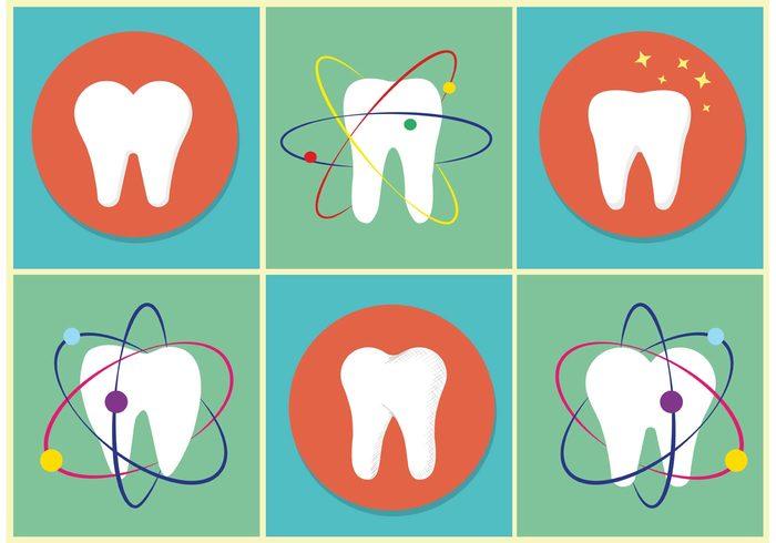 Vector Teeth Icons