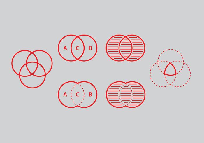 Venn Diagram Vector Set – Download Free Vector Art, Stock Graphics & Images