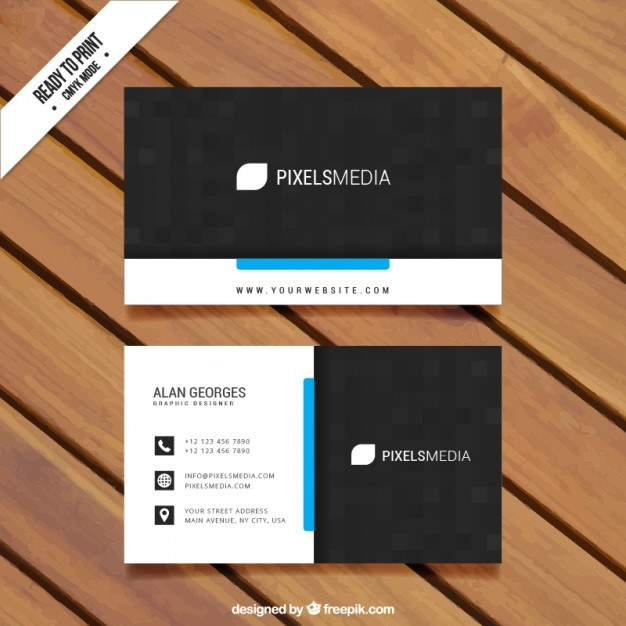 Visit card template  Vector | Free Download