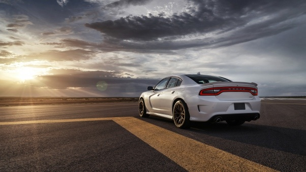 Wallpaper Dodge, Charger, Srt, Hellcat, 2015, Cars, Road HD