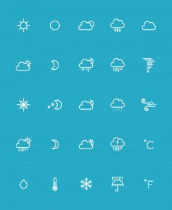 Weather Icons | IconStore