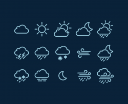 Weather Vector Icons | IconStore