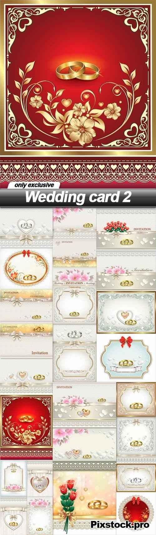 Wedding card 2 – 25 EPS