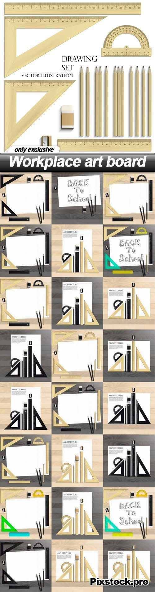Workplace art board – 25 EPS