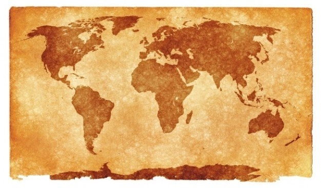 world grunge map  Photo | Free Download