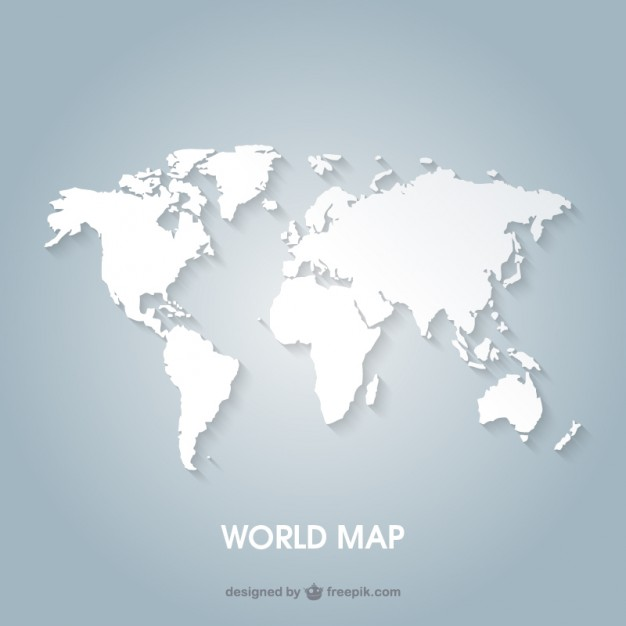 World map  Vector | Free Download