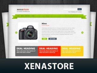 Xenastore WordPress Themes