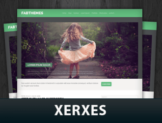 Xerxes WordPress Themes