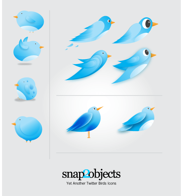 Yet Another Twitter Vector Icons