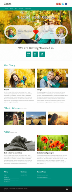 Zenith WordPress Themes