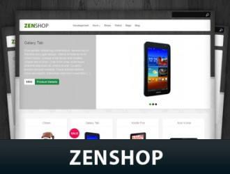 Zenshop WordPress Themes