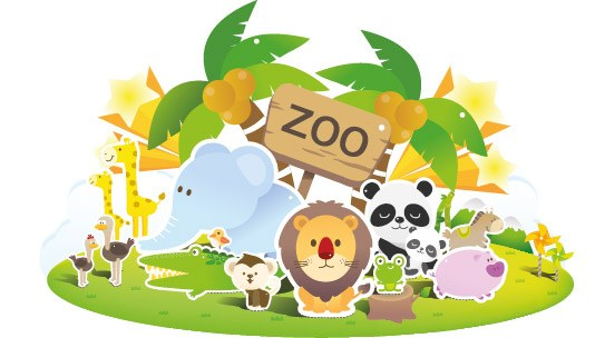 Zoo Vector Art