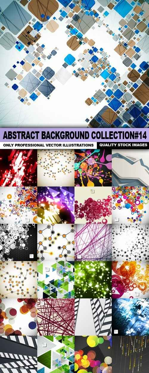 Abstract Background Collection#14 – 25 Vector