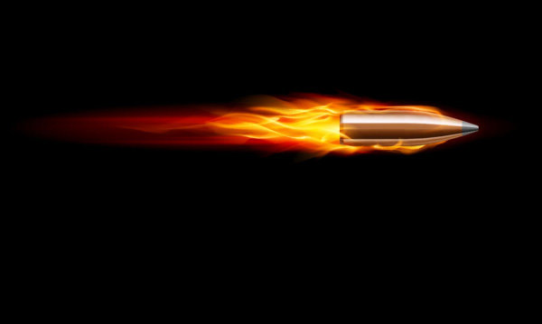 Bullet vector material