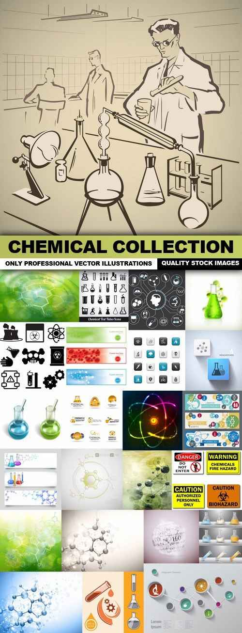 Chemical Collection – 25 Vector