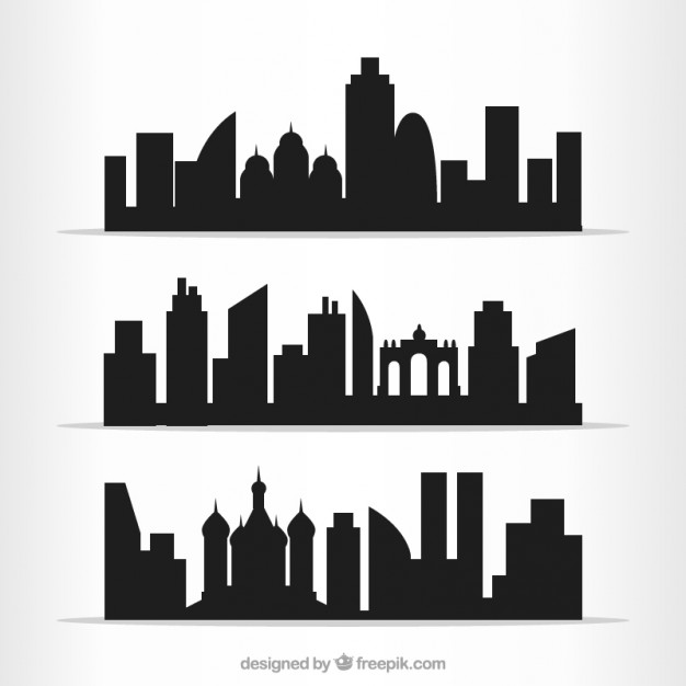 Cities outlines pack