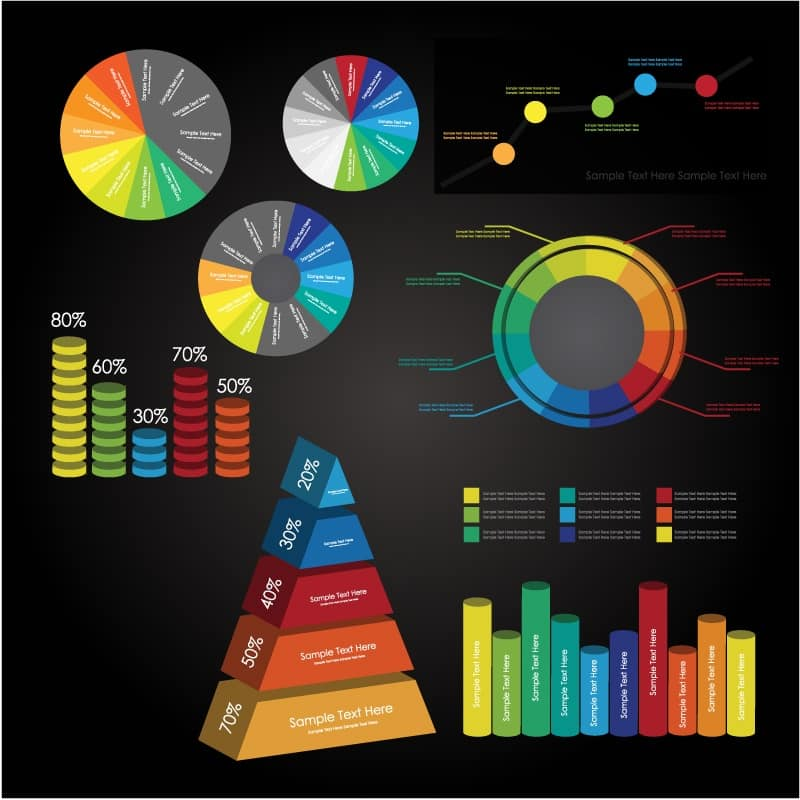 Color information map vector material