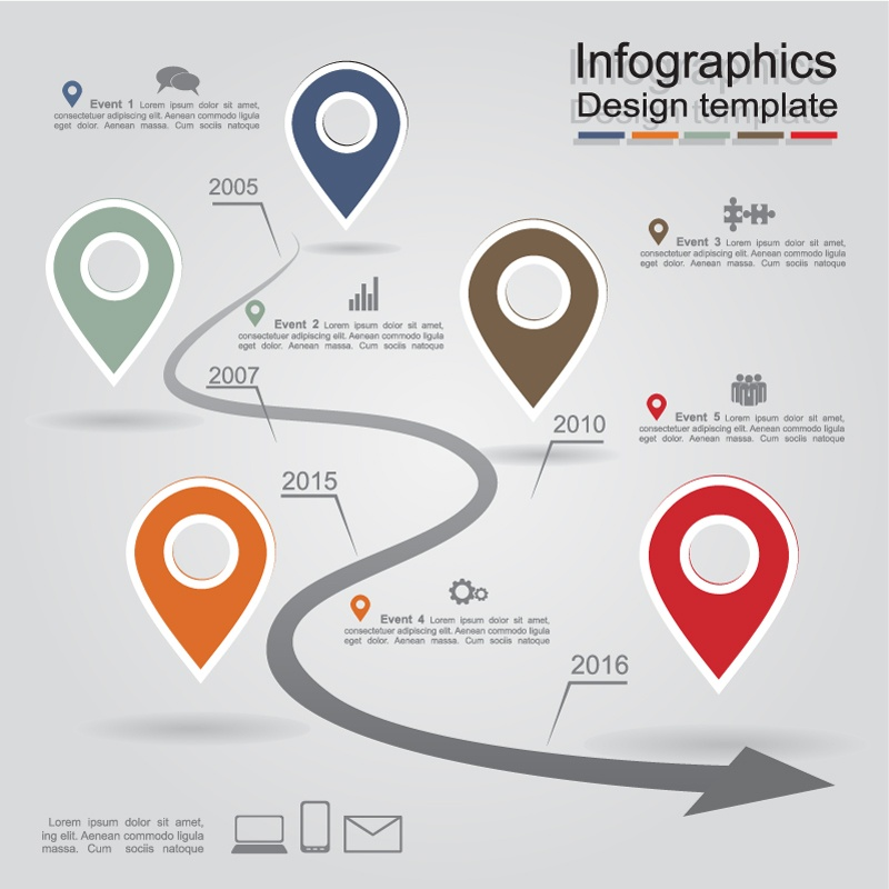 Creative Landmarks Business information map