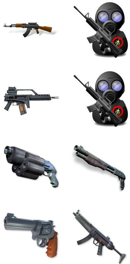 CS firearms Computer – PNG Icons