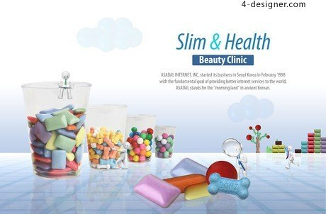 Health care posters PSD