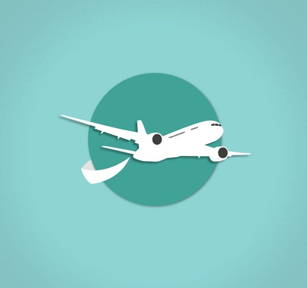 Exquisite aircraft clipart vector graphics