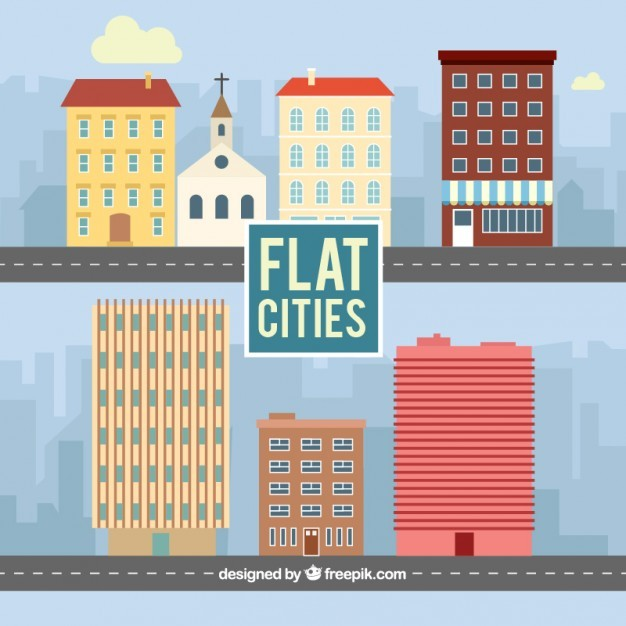 Flat cities collection