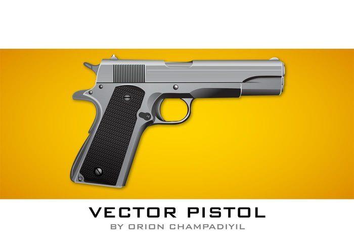 Free Vector Pistol