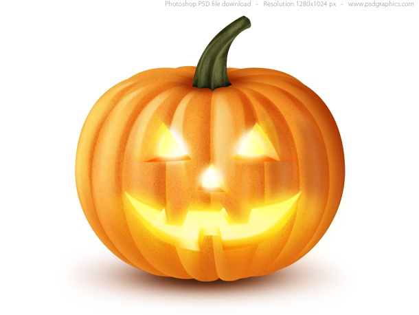 Jack O' Lantern, Halloween pumpkin icon
