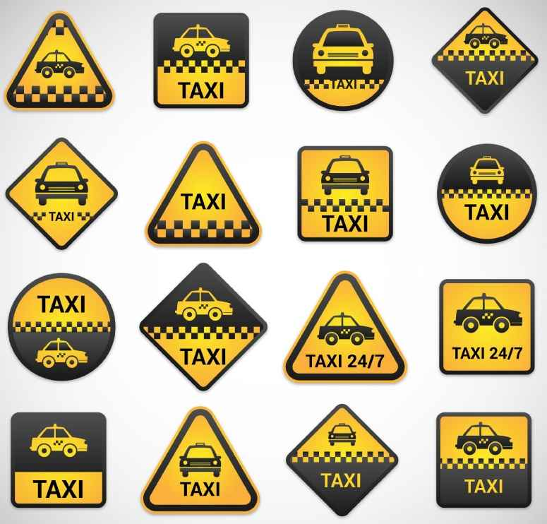 16 of the Taxi label vector material