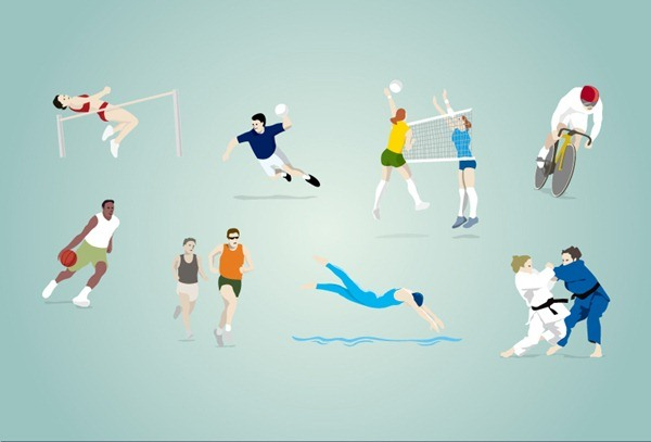 Olympic Games vector graphics