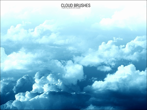 Photoshop Cloud Brushes Cloud ps brush