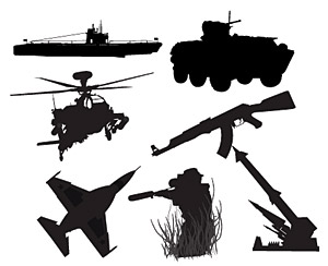 Chinese military weapons material