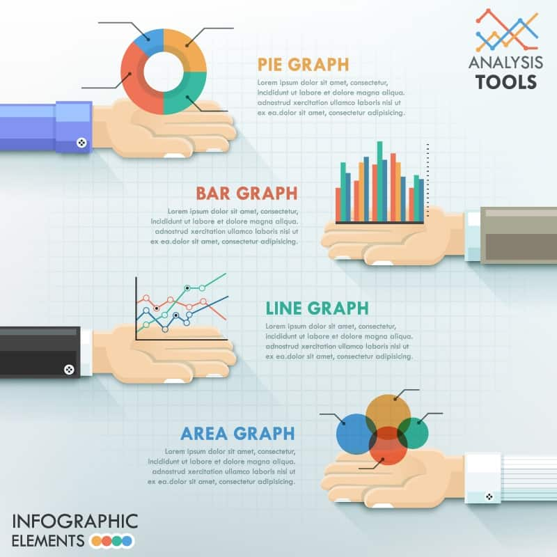 Single palm rest infographic design elements