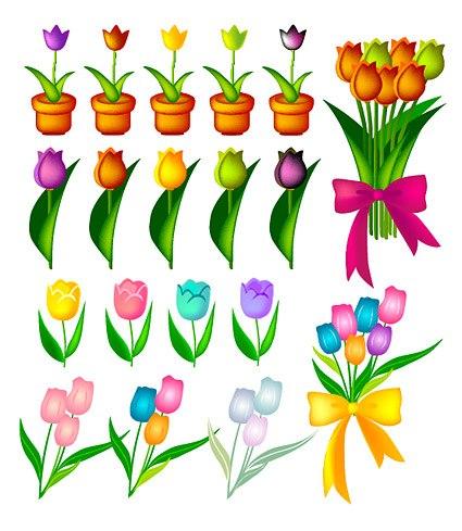 Tulip Vector material