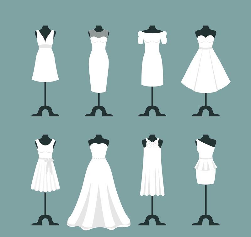 8 white wedding vector design encyclopedia of life
