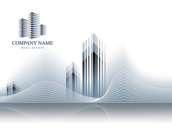 Real estate icon vector material 03