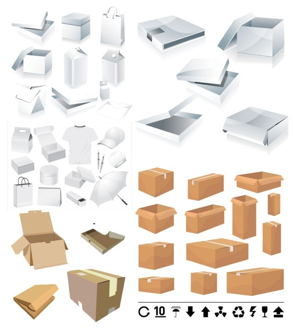 packaging and carton template
